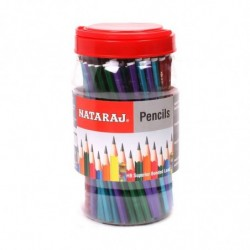 Nataraj Marble Finish Pencils Jar ( Jar of 100 pencil) (82017858)