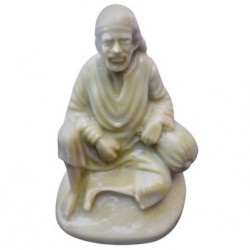 Indo Sai Baba Sitting in Rasin Design