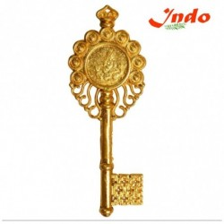 Golden  Polished  Kuber  Kunji